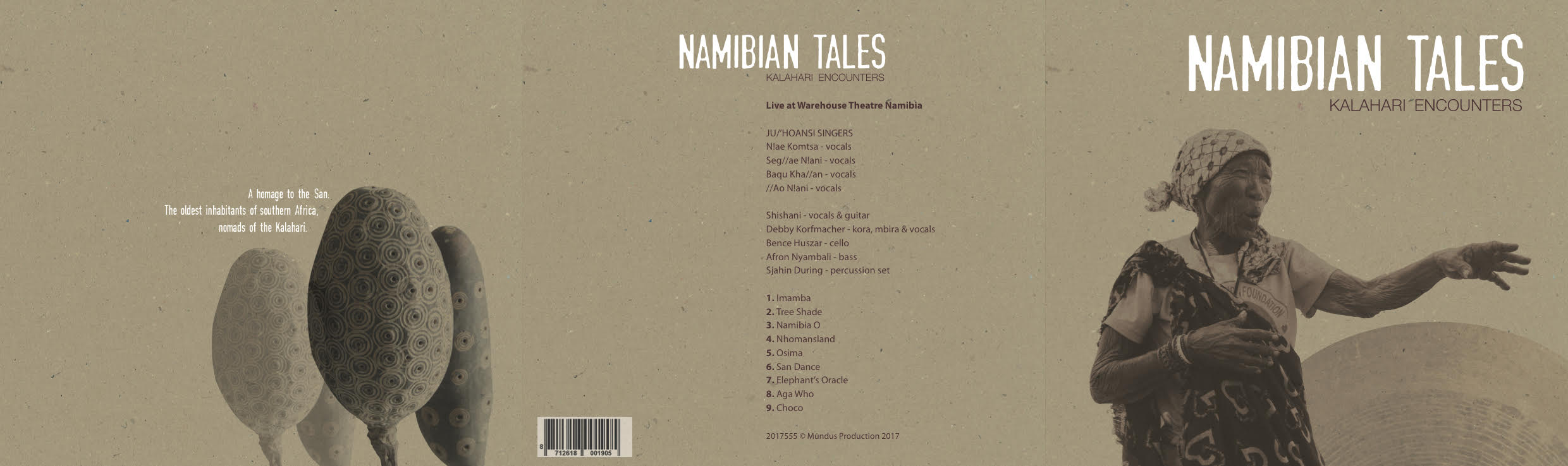 Namibian Tales - a homage to the San